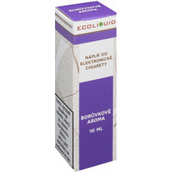 Liquid Ecoliquid Blueberry 10ml - 0mg (Borůvka)