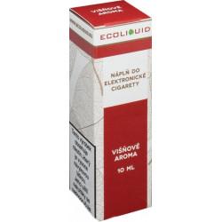 Liquid Ecoliquid Cherry 10ml - 18mg (Višeň)
