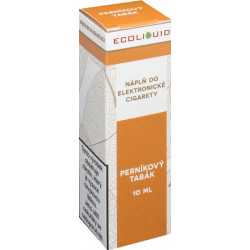 Liquid Ecoliquid Gingerbread tobacco 10ml - 18mg (Perníkový tabák)