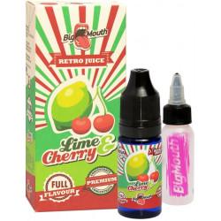 Příchuť Big Mouth RETRO - Lime and Cherry