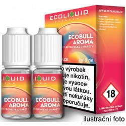 Liquid Ecoliquid Premium 2Pack Ecobull 2x10ml - 6mg (Energetický nápoj)