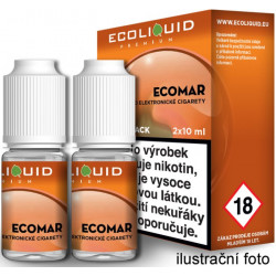 Liquid Ecoliquid Premium 2Pack ECOMAR 2x10ml - 6mg