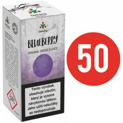Liquid Dekang Fifty Blueberry 10ml - 11mg (Borůvka)
