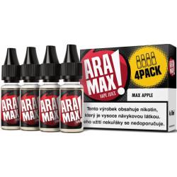 Liquid ARAMAX 4Pack Max Apple 4x10ml-18mg