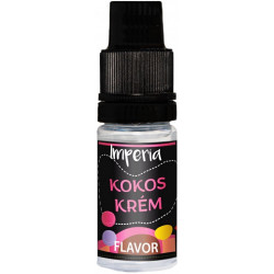 Příchuť IMPERIA Black Label 10ml Coconut Cream (Kokosový krém)