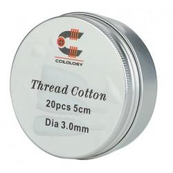 Coilology Thread Cotton Organická vata 20ks
