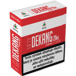 Nikotinová báze Dekang Fifty 5x10ml PG50-VG50 20mg