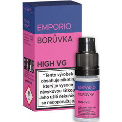 Liquid EMPORIO High VG Blueberry 10ml - 1,5mg