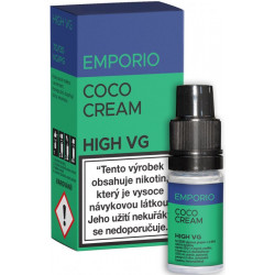 Liquid EMPORIO High VG Coco Cream 10ml - 0mg