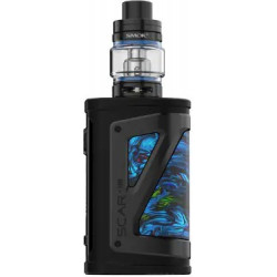 Smoktech Morph TC219W Grip Full Kit Black and Prism Chrome