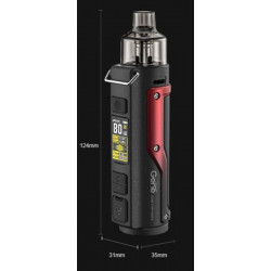 Uwell Caliburn elektronická cigareta 520mAh Red