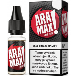 Liquid ARAMAX Max Cream Dessert 10ml-6mg